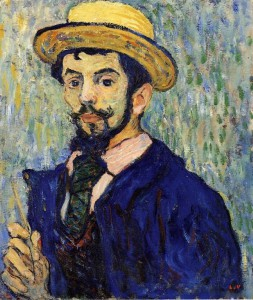 Louis Valtat - Self Portrait 1892