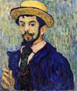 Louis Valtat - Self Portrait 1892