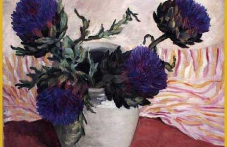 Artichaux en fleurs
