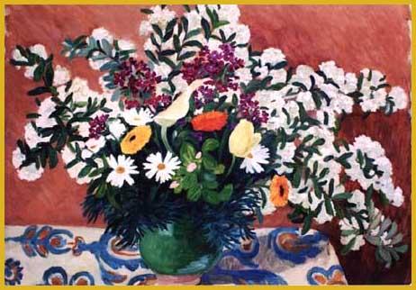 Huile sur toile  65 x 81 cm