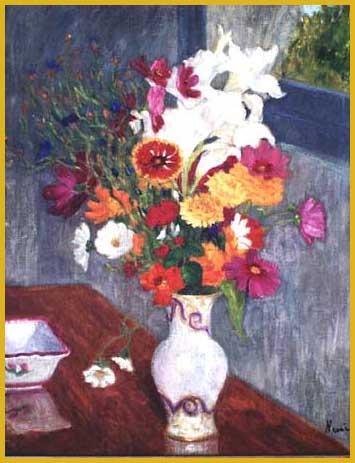 Huile sur toile 65 x 54 cm